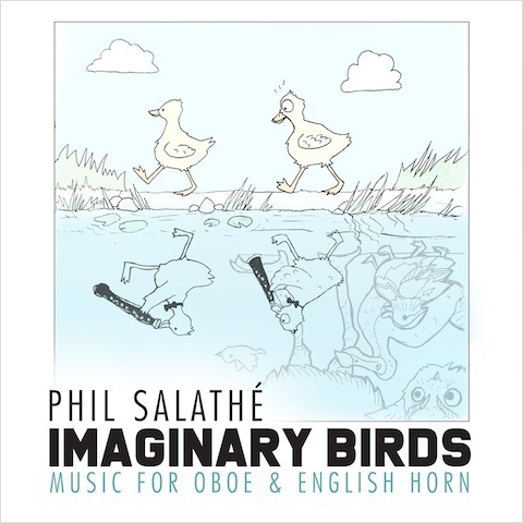 An image of the cover of the CD Imaginary Birds